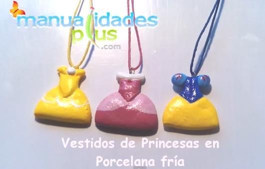 princesas porcelana fria