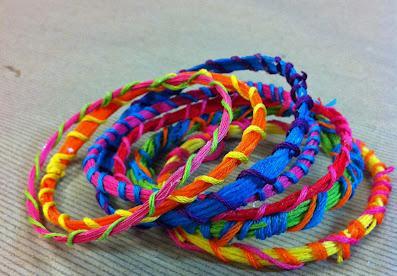 pulseras lanas