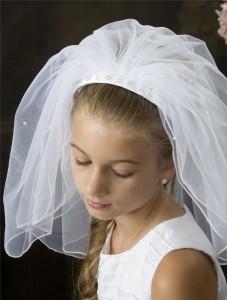 velo para comunion novias