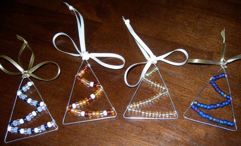 Souvenirs angeles para navidad - Arbol de navidad artesanal ...