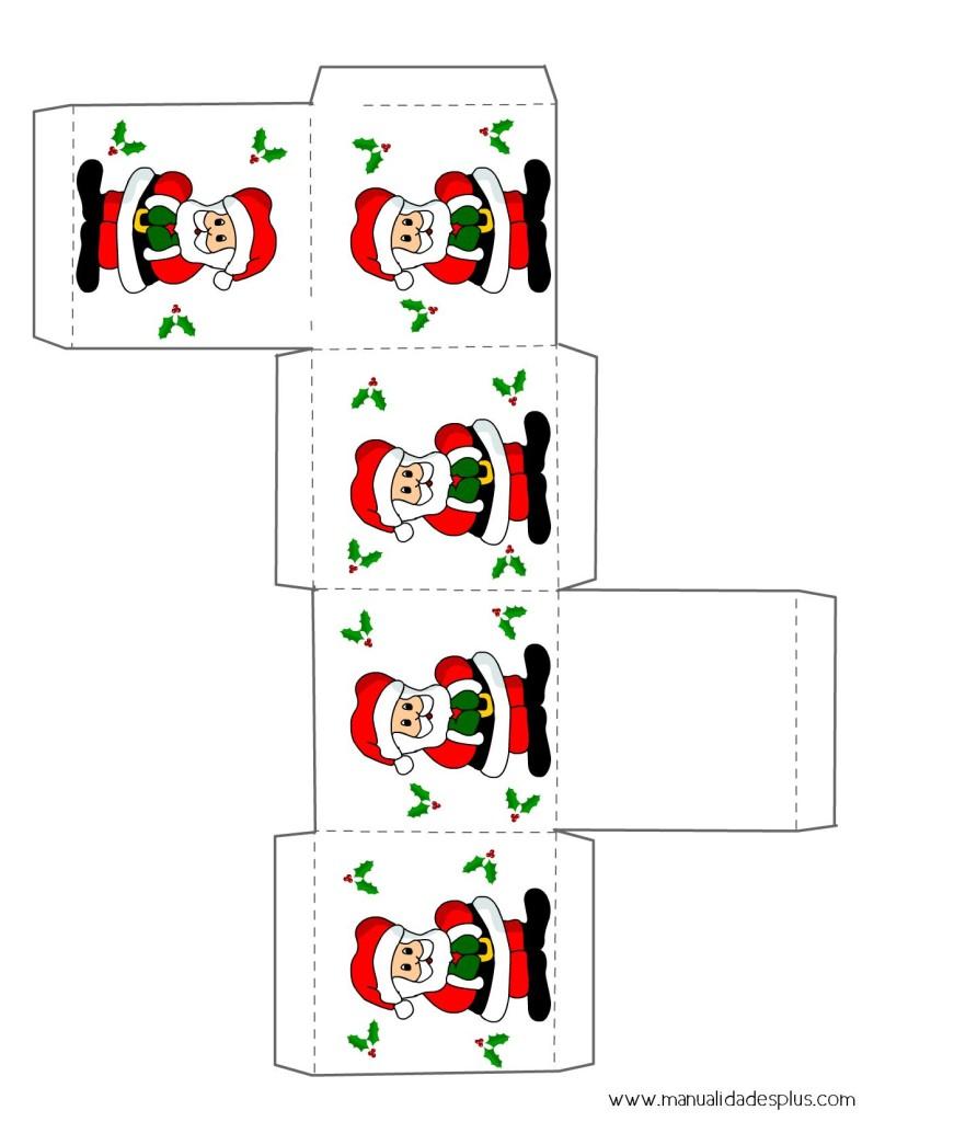 Cajas navidad para imprimir gratis for In regalo gratis