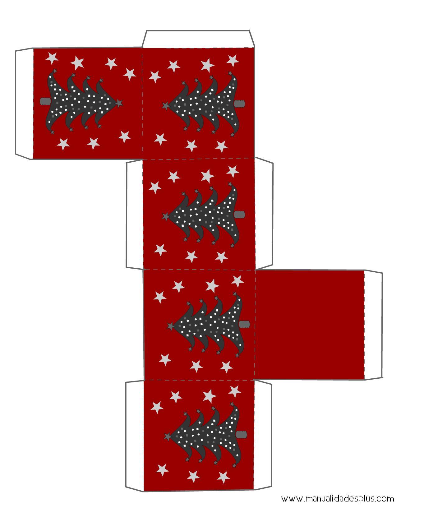 Cajas navidad para imprimir gratis for Arbol de navidad con cajas de carton