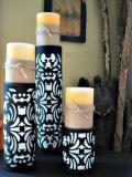 Reciclaje de Latas: Porta velas Paso a paso