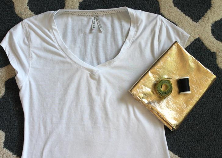 camiseta bolsillo dorado 1