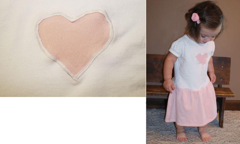 vestido camiseta bebe 3