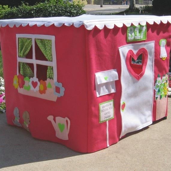 casa tela ninos