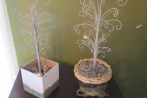 Manualidades con alambre: Árbol Joyero