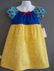 Vestido Blancanieves
