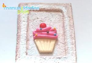 cuadros cupcake porcelana fria