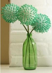 flores con cotonetes 1