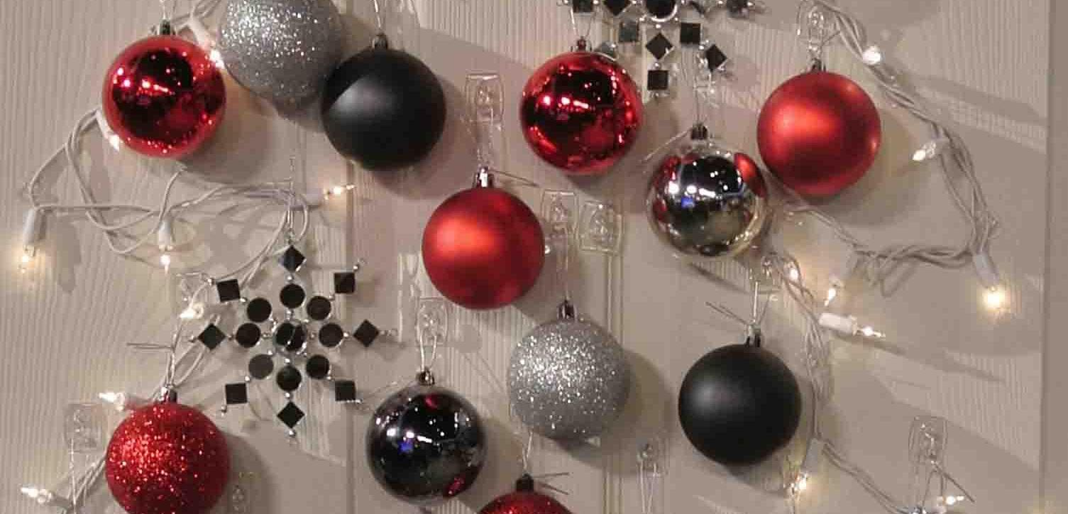Decoraci n navidad para puertas - Ideas para decorar estrellas de navidad ...