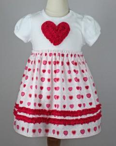vestido nena navidad