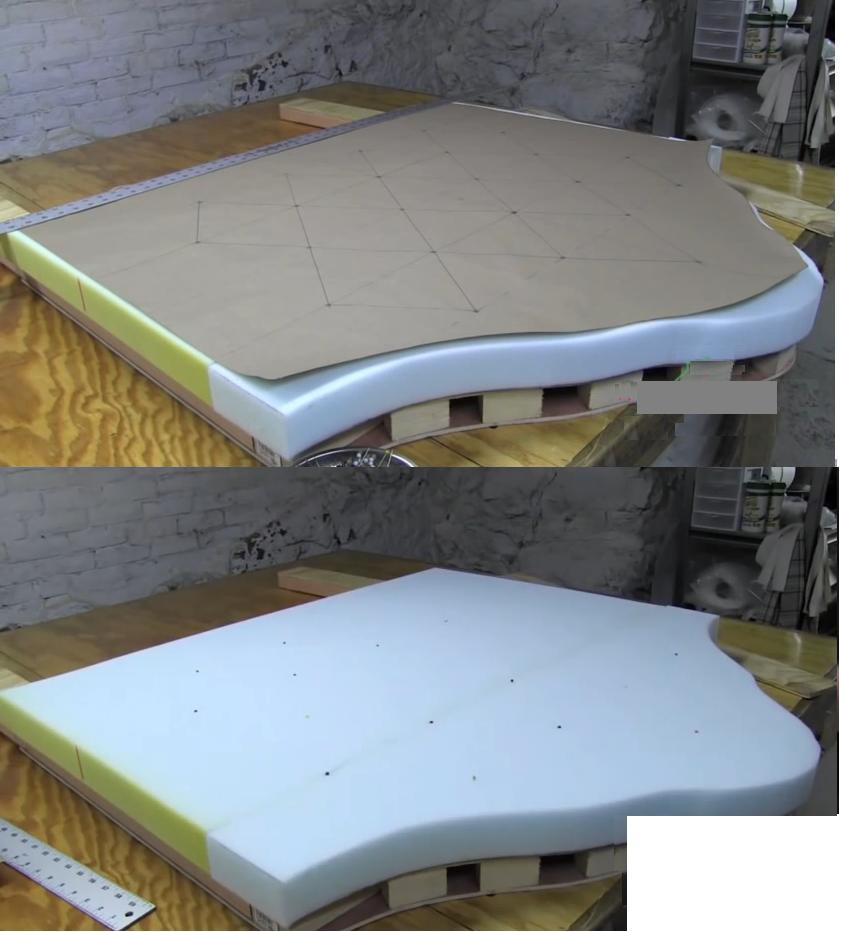 Como hacer un respaldo de cama capiton - Como hacer un cabezal para la cama ...