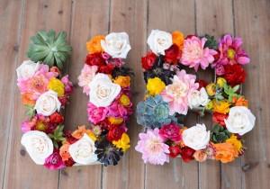 hacer-letras-flores 1