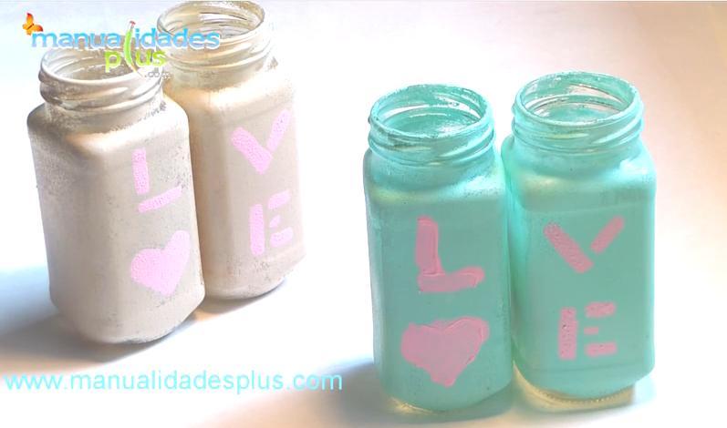 Frascos vintage reciclaje de frascos para decorar organizador - Como reciclar para decorar ...