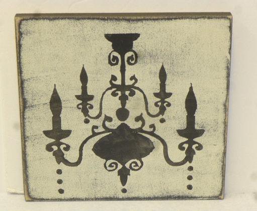 cuadros-vintage-candelabros lamparas 1
