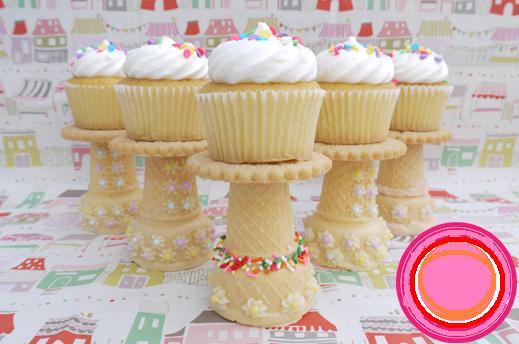 estantes cupcakes comestibles 1
