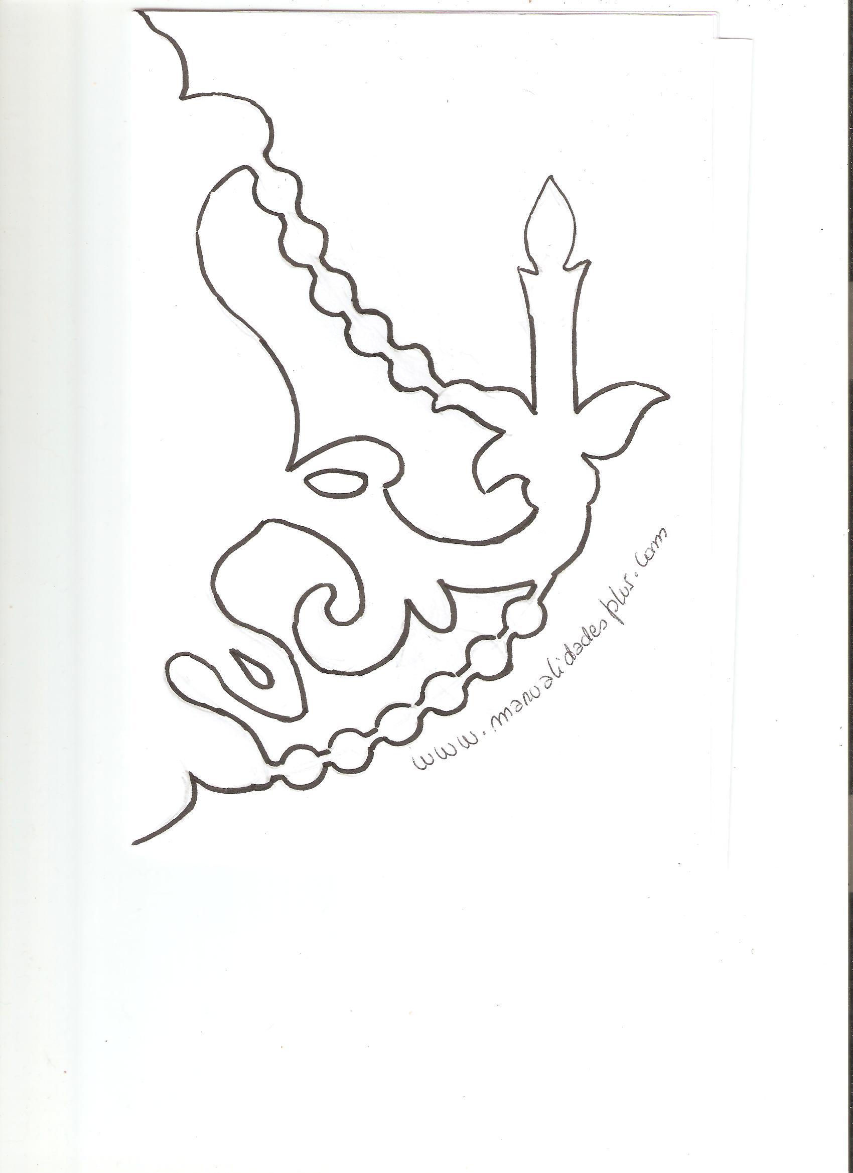 Candelabros con papel manualidades para cumplea os - Como hacer candelabros ...