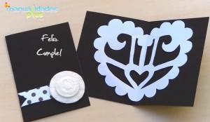 tarjeta-cumpleaños-bodas-aniversario-blanco y negro