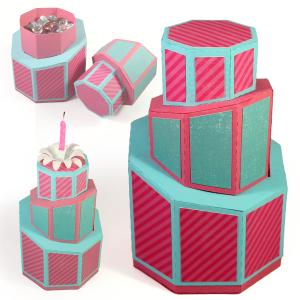 torta torcidas carton