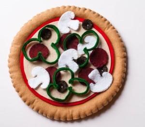 pizza-fieltro-paño lenci-juguetes -tela