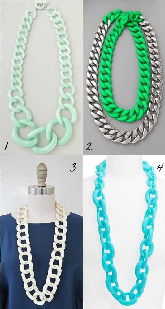 diy-collares-regalar-navidad 11-collar-cadenas