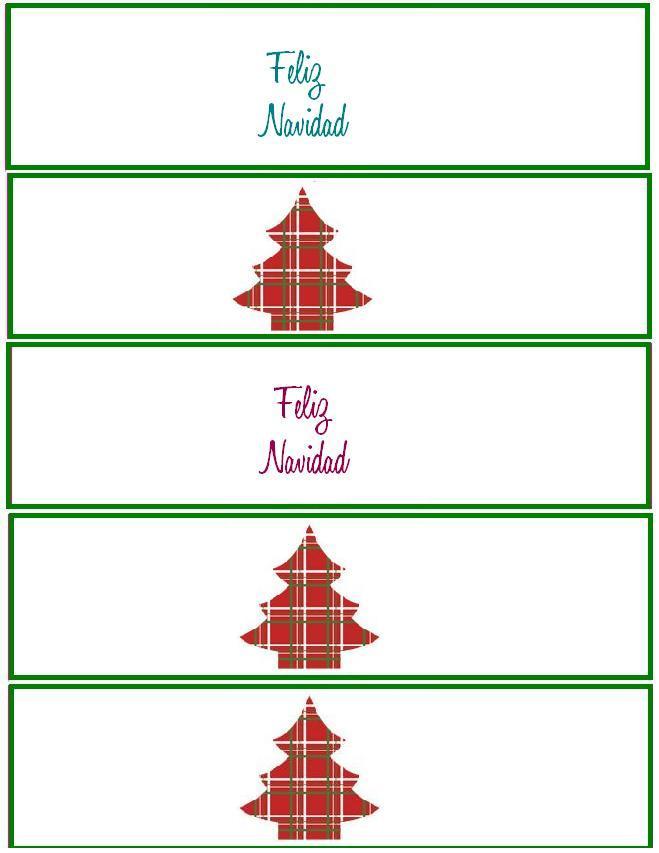 porta servilleta navidad imprimir 1