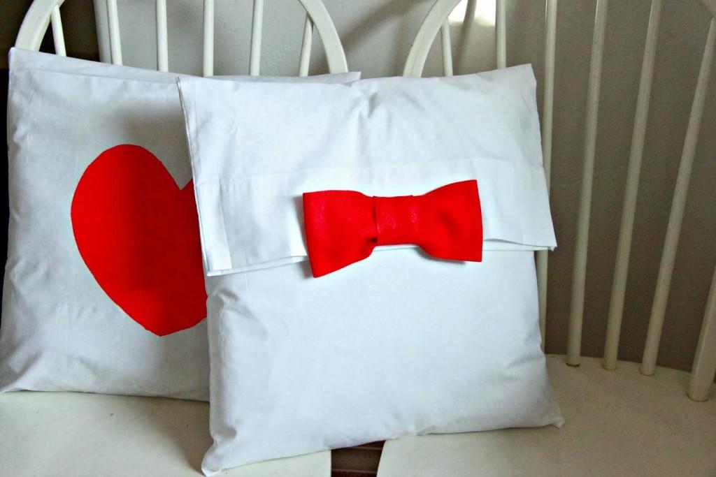 almohadones con fundas tela