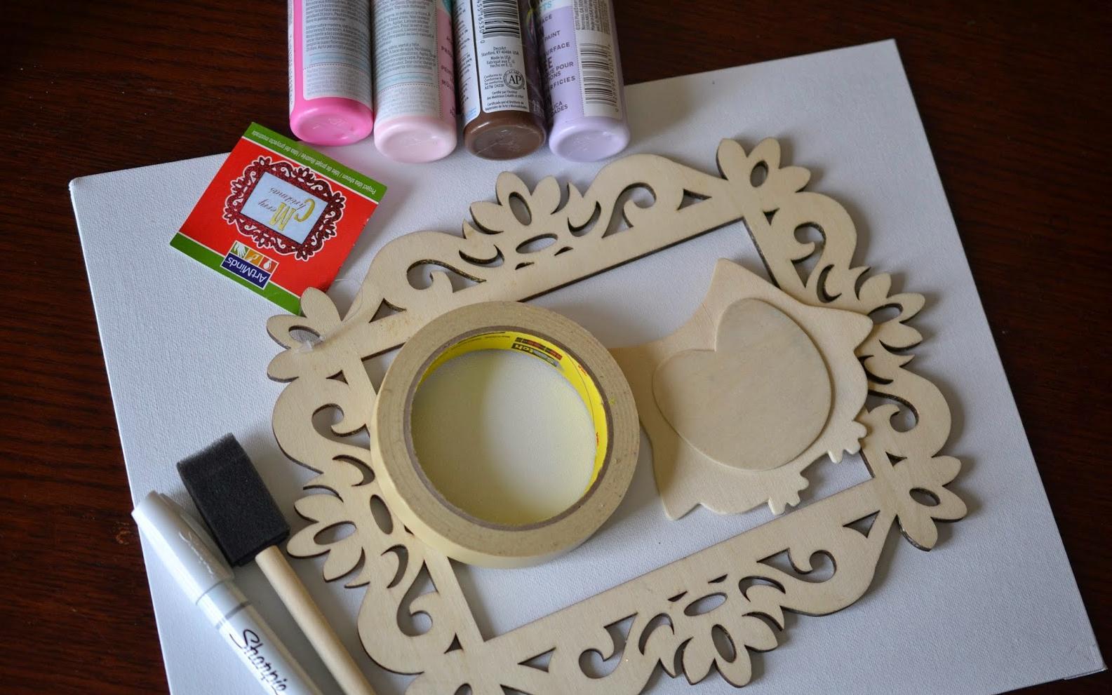 Manualidades en madera - Pintar con acrilicos paso a paso ...