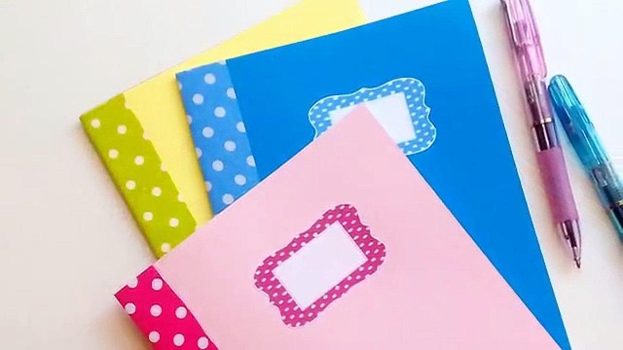 ideas decoracion de cuadernos y carpetas
