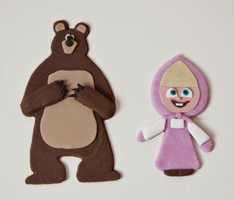masha y el oso fieltro