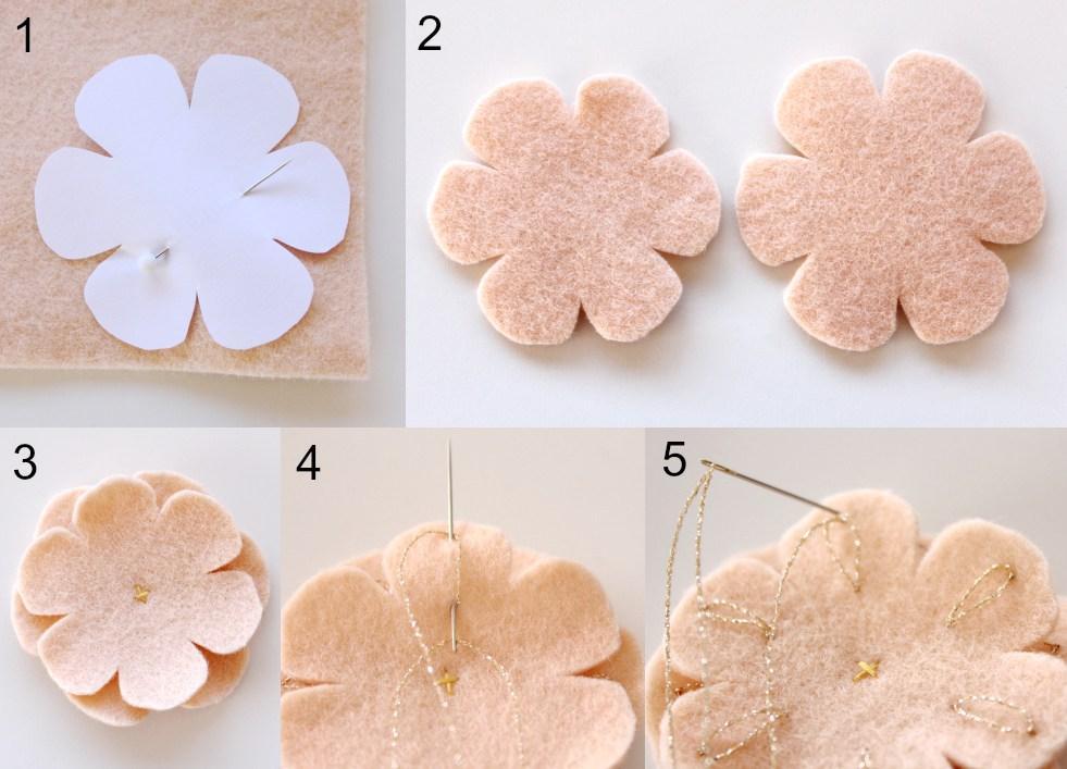 flores fieltro cardado panio lenci 5