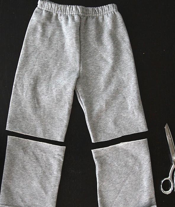 coser falda con un pantalon 1