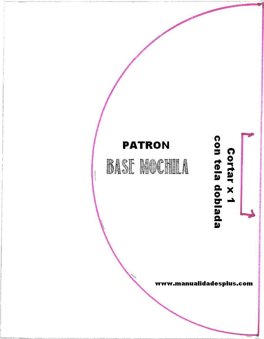 Patrones Morral Mochila Chevron DIY