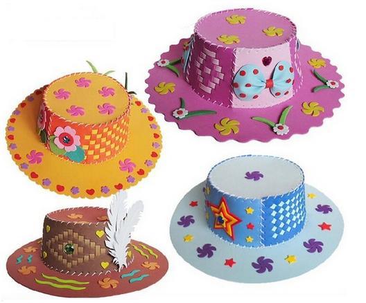 sombreros-goma-eva 1