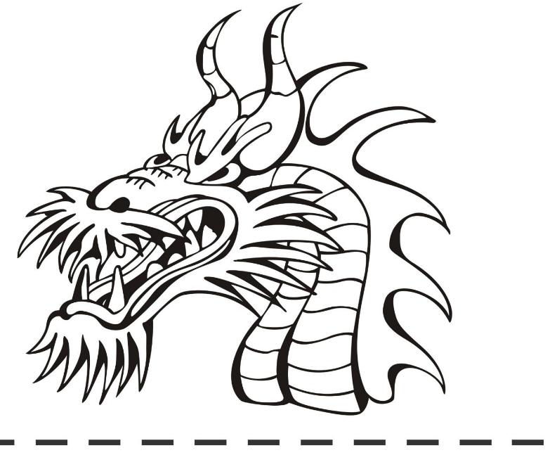 Famoso Dragón Realista Para Colorear Imprimible Imágenes - Dibujos ...