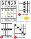 Manualidades Primaria Bingo para aprender Matematica
