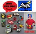 Manualidades SuperHeroes Imanes Comics