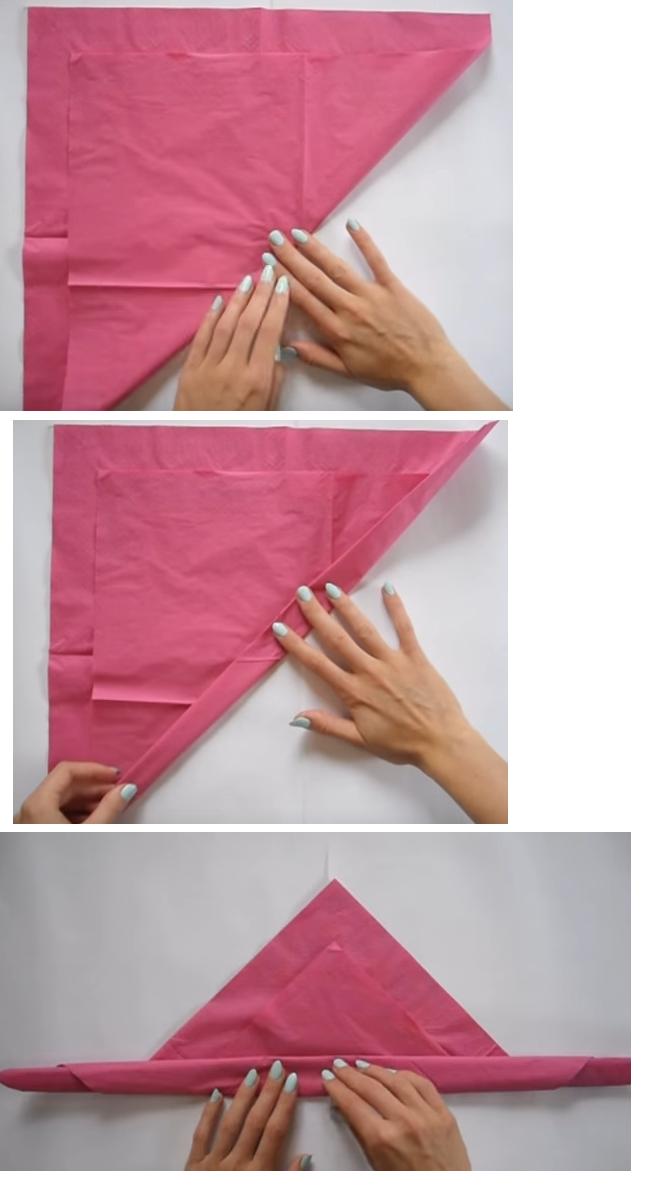 rosa papel