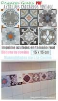 Azulejos Decoupage Calcareos 15 x15 cm Descarga Gratis