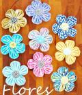 Como hacer Flores para Niñas con retazos de Tela
