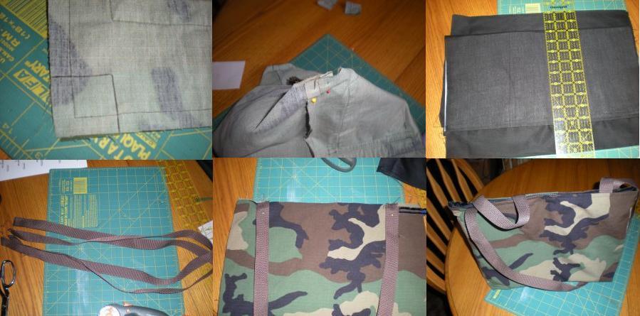 bolso militar camuflado 1