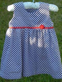 patrones vestido bebes