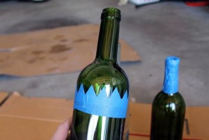 decoracion botellas halloween 1