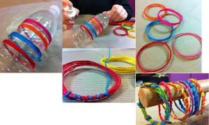 pulseras lanas 1