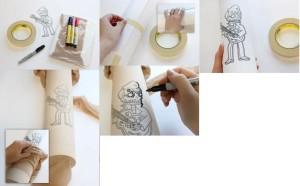 tatuajes para medias 1