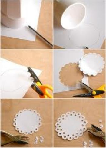 blondas papel tutorial diy