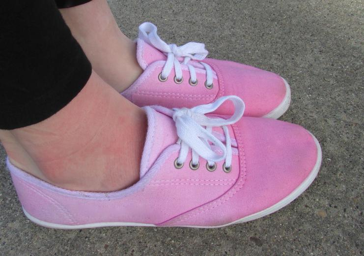 teñir zapatillas 1