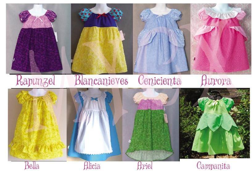 moldes vestidos princesas disney patrones curso