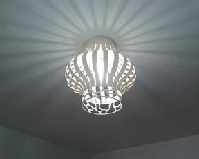 lampara pvc 2